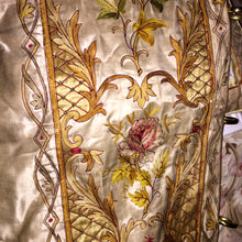 Arch Bishop's Robe Louis XIVth Court of the Sun King, French Vestment, Gold, Silk Satin