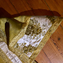 16th Century Textile, Antique Catholic Vestment, Reql Gold, French