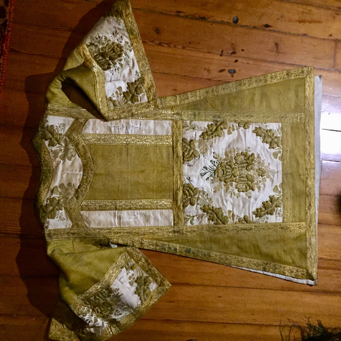 Textile, Antique Clergy Robe