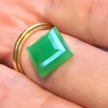 Extremely high quality Marlborough Green chrysoprase / chalcedony vaulted since 1970's and now being cut into amazing gems equal or exceeding the quality mounted during the 1970's by the highest end jewelers in the world