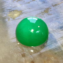 Marlborough Green Chalcedony, 16.89 ct. Cabochon, Master cut