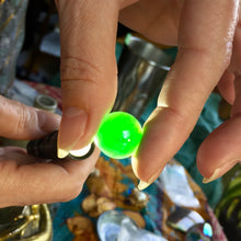 16.89 carat Marlborough Green Cabochon, Master cut
