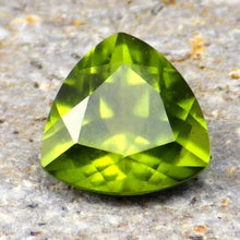 2.78 ct. Hydrogrossular Garnet Intense Apple Green, Russia. This Gem Has Rarely Been Seen Transparent, VS1 Facet Grade