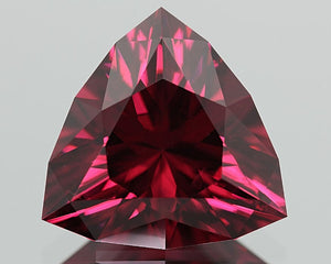 Malaia Garnet, Pinkish-Red To Orange Tone Color Shift, 6.1 ct.