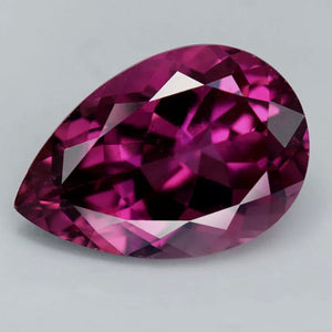 Rubellite Tourmaline, 4.88 ct. VVS, Pear, Mozambique, Pinkish Red