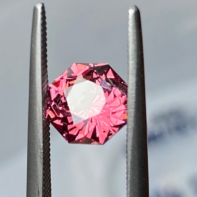 1.965 ct Color Shift Garnet, Malaya Family, East Africa