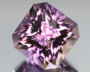 AMETRINE, 13.93CT. BOLIVIAN, MASTER CUT, CALIBRATED SIZE