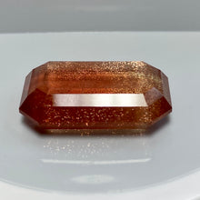Oregon Sunstone, 26.15 ct., Golden orange with copper schiller