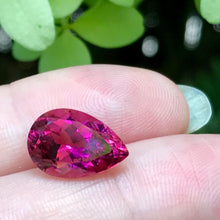 "Mozambique Rubellite dead ringer for ruby. natural rubellite untreated and rare due to VVS clarity in ""Type III"" gem"
