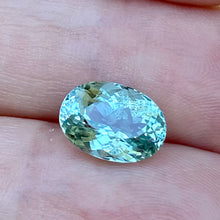 Mint Green Tourmaline, (probably copper-bearing)