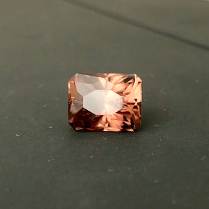 Zircon, 8.83 Ct. Top Color, Regal Radiant Cut by John Dyer, USA