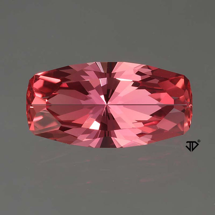 2.30 ct. Imperial Topaz, Minas Gerais, Brazil, Cushion Cut by John Dyer.