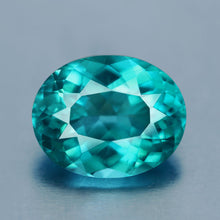1.32 ct. Apatite, Paraiba Blue, Oval, Madagascar, VS