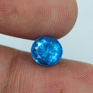 1.43 ct. Neon Blue Apatite, Madagascar, Untreated, Oval VS