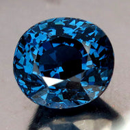 3.15 Royal Blue Spinel, Finest Quality, Vivid Ceylon Blue. Top Drawer!
