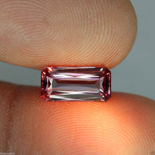 Malaia Garnet, 1.97 ct. Imperial Pink, Emerald Cut, Near Flawless, Malaya