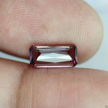 Malaya Garnet, Emerald Cut, Near Flawless, 1.97 ct. Imperial Pink, Malaia