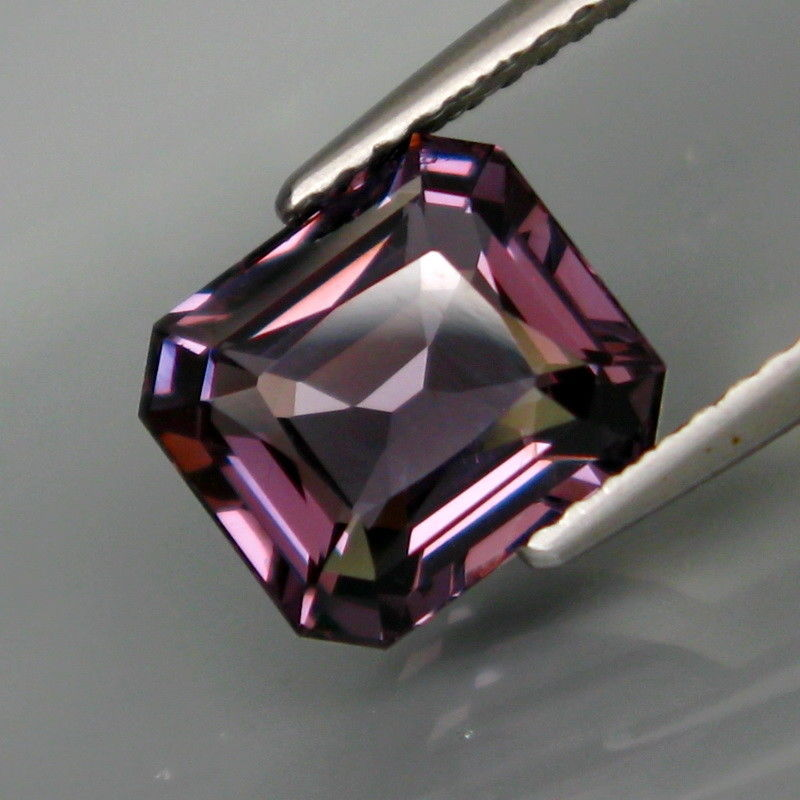 Spinel, 3.26 ct. Purple, Emerald Cut, Vietnam
