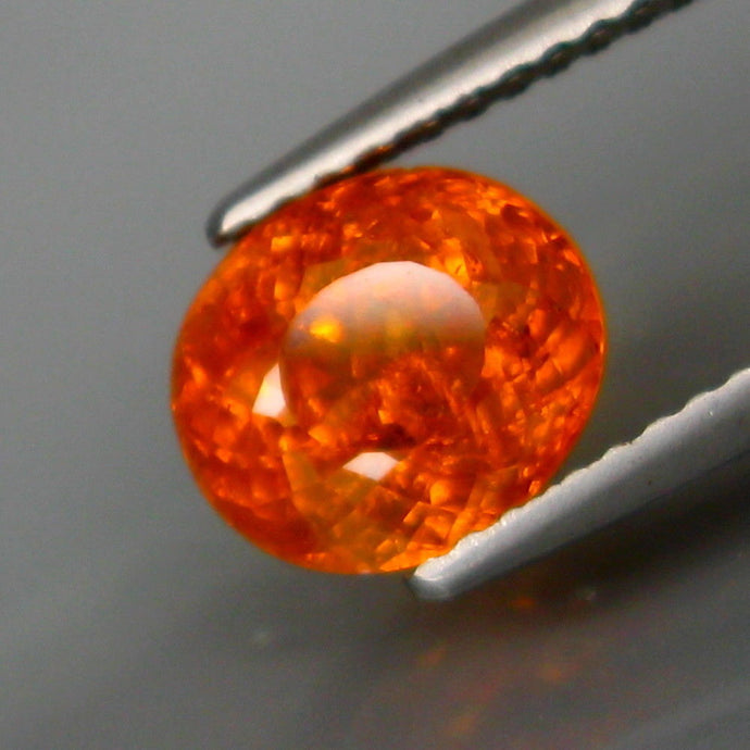 2.32 ct. Neon, Fanta Orange Spessartite Garnet, Oval, Namibia