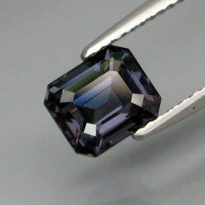 1.88 ct. Cobalt Blue Spinel, VS, Emerald Cut, No Treatment, Burma