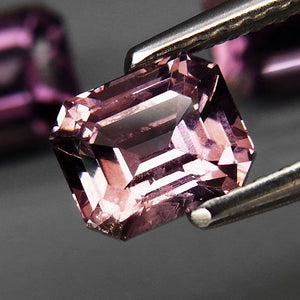 Spinel, 3.03 tcw. Set of (3) Purple-Pink Tone, Gorgeous Set