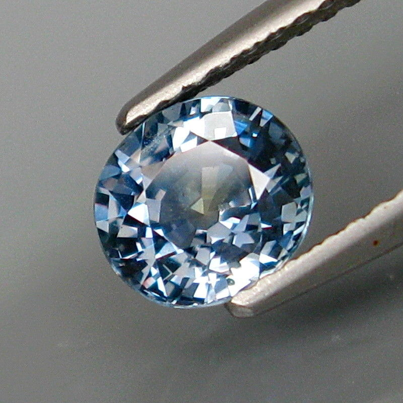 Sapphire, 1.30 ct. Siamese-Blue, Oval Cut, Tanzania, No Heat, Superior Luster