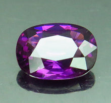 Garnet, 1.52 ct. Purple, Oval Cut, VVS, Tanzania