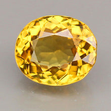 Grossular (Mali) Garnet, 1.29 ct. Yellow, Oval, VVS, Mali, West Africa