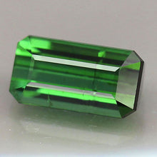 Tourmaline,1.46 ct. Green, Octagon Cut, Mozambique, Africa