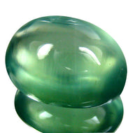 11.00 ct. Finest Quality Prehnite, Finest Color, Clarity, Luster. Our Finest!