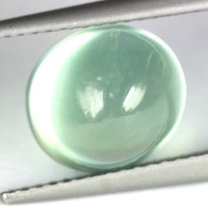 4.52 Absolute TOP Prehnite Cabochon, Mali Green, Clean!
