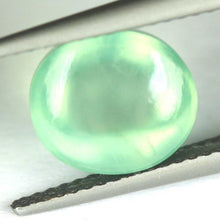Prehnite Cabochon, 4.52 ct. Absolute TOP Quality, Mali Green, Clean!