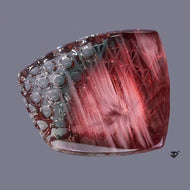 John Dyer cut, 28.69 Carat Sunstone, Combination Cut