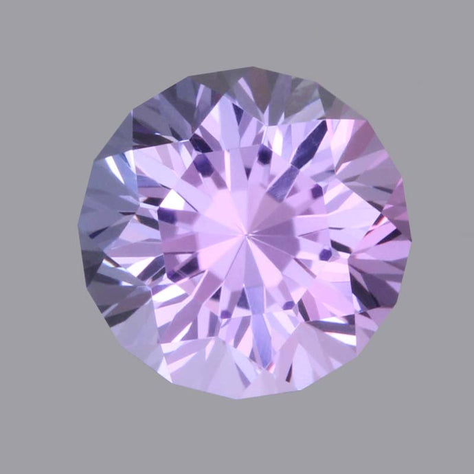 4.99 ct. Bluish Violet Tanzanite, Round, Cut by John Dyer