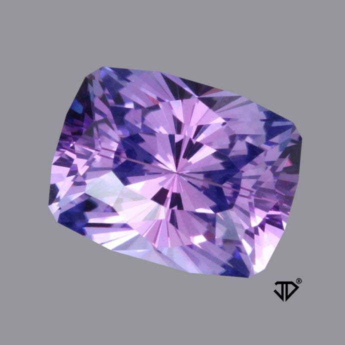 5.78 ct. Tanzanite, Blue Violet, Cushion Cut, Tanzania, John Dyer