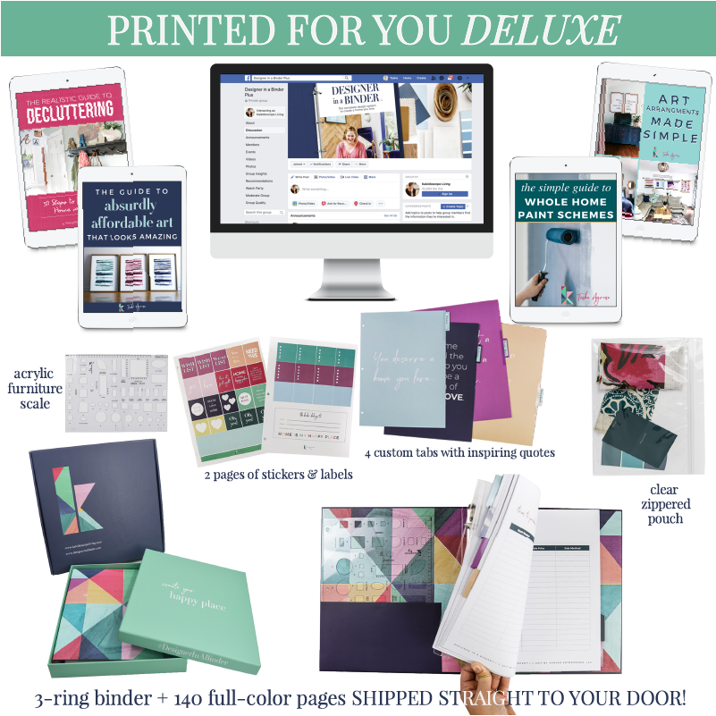 Designer in a Binder Printed for You DELUXE Package (3rd Edition)