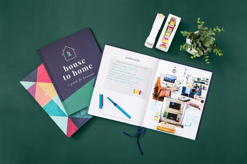 House to Home: A Journal for Homeowners