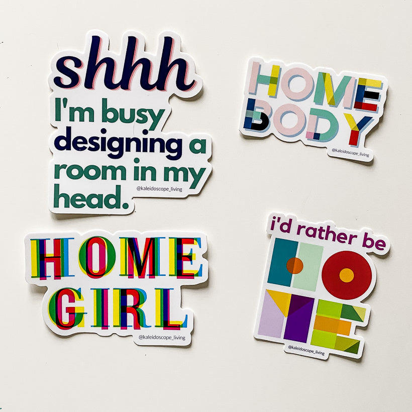 Home Lovers Sticker Pack
