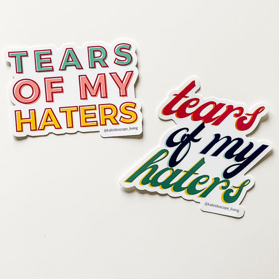 Tears of My Haters Sticker Pack