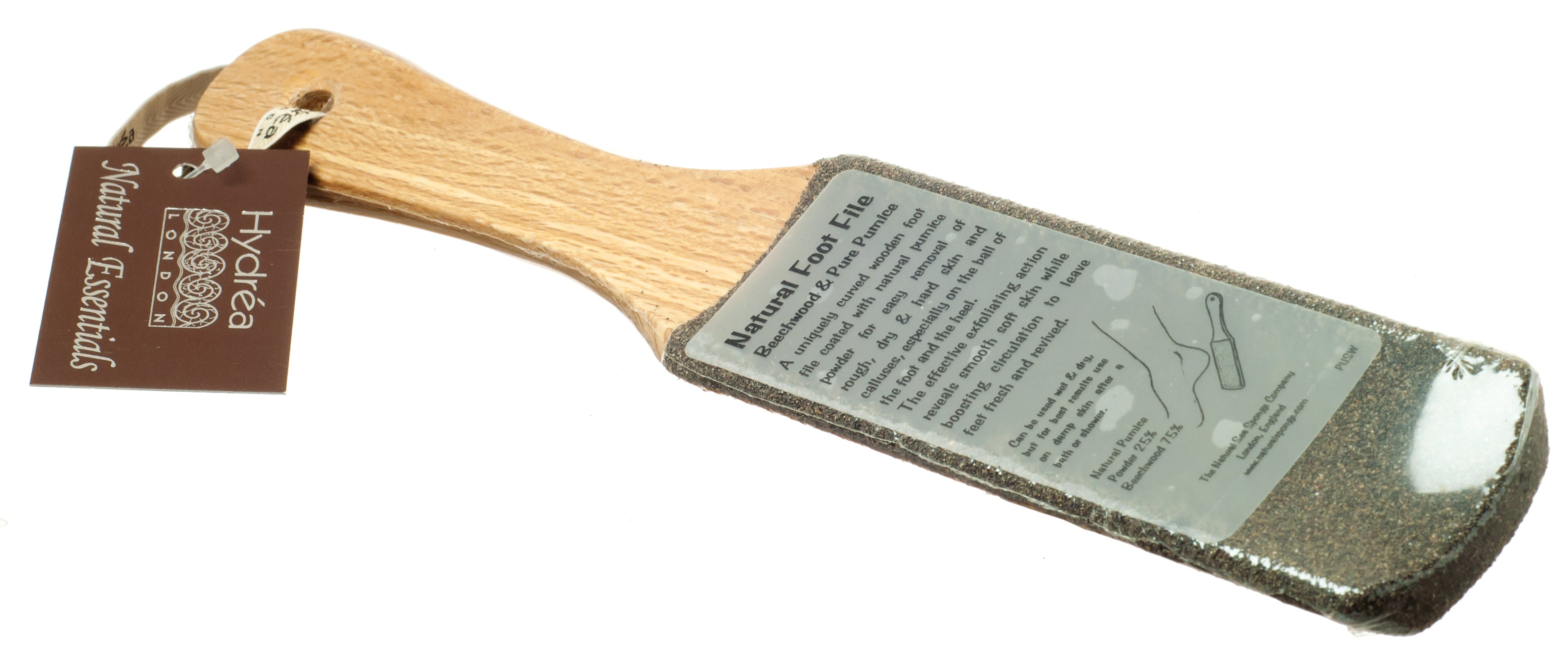 Natural Pumice Foot File with Ceramic Micro Crystals