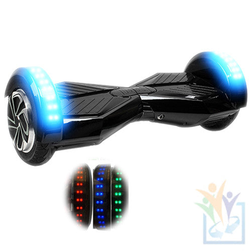 "8"" Wheel Hoverboard W\ Bluetooth Speakers"