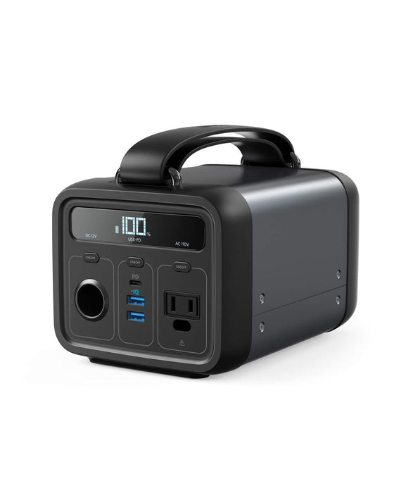 Anker Powerhouse 200, 200Wh/57600mAh Portable Rechargeable Generator 110v, 12v