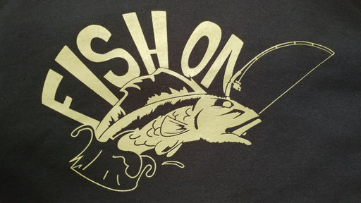 """Fish On""  Crew T-Shirt"