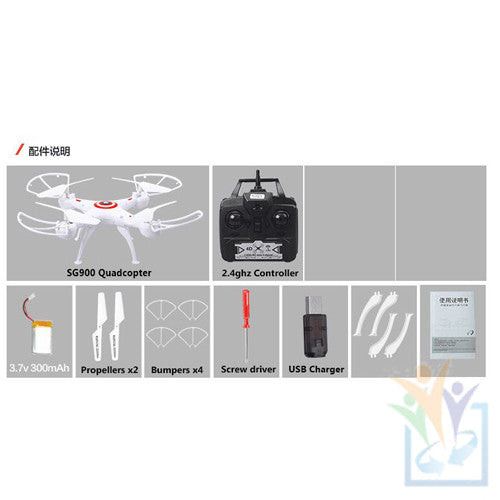 SG900 Quadcopter Drone 2.4GHZ 6 Axis