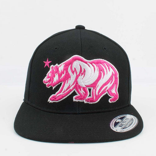 Big Bear Hat Pink Cali Hats