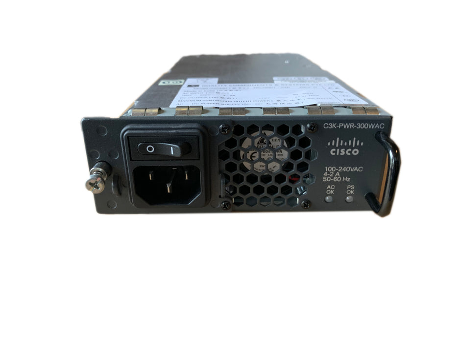 Cisco C3K-PWR-300WAC Power Supply For 3560E-12D Series