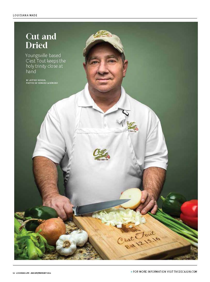 Cut and Dried - an article from Louisiana Life Magazine