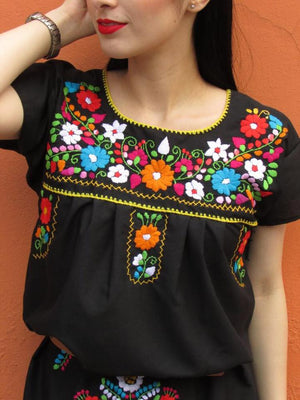 Las Poblanas, Mexican Embroidered Dress