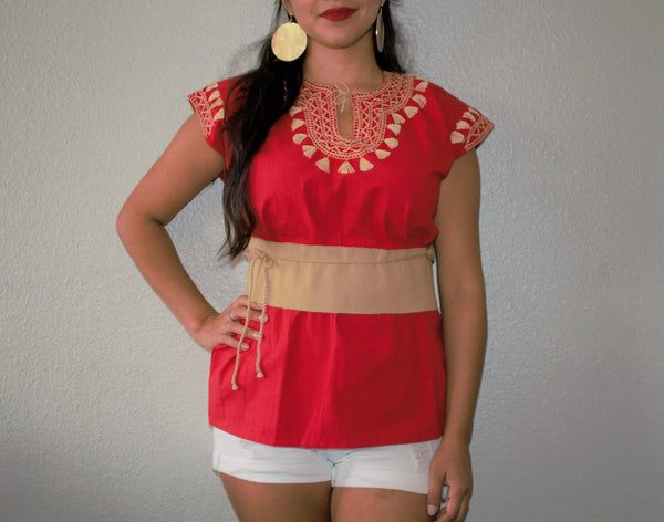 Mexican Waist Belt- Faja Mexicana