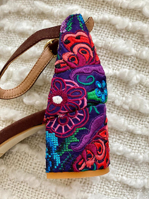 Magdalena Mexican Embroidered Shoe